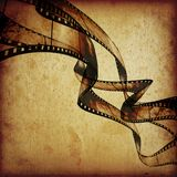 Movie frames or film strip. Abstract composition of movie frames or film strip Royalty Free Stock Photos