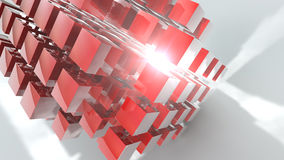Cubic Abstract Background Stock Photos