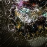 Woman`s Eye royalty free illustration