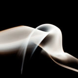 Abstract composition with smoke Stock Image