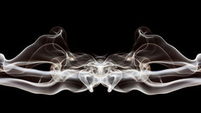 Abstract composition with smoke Stock Photo