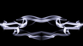 Abstract composition with smoke Royalty Free Stock Image