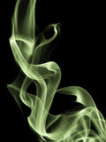 Abstract composition with smoke shapes Stock Images