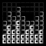 Abstract composition with squares Stock Photos