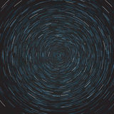 Abstract composition of the stars path Royalty Free Stock Photos