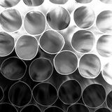 Abstract composition with straws Royalty Free Stock Photo