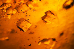 Abstract composition with sugar cubes in a jar with sweetness Royalty Free Stock Photos