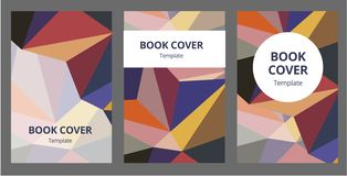 Abstract composition. Text frame surface. a4 brochure cover design. Title sheet model set. Polygonal space icon. Vector. Abstract composition. Text frame surface royalty free illustration