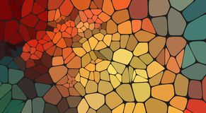 Colorful voronoi abstract 2D geometric background. Abstract composition with voronoi geometric shapes for your design Stock Illustration