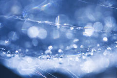 Abstract composition with water drops Stock Image
