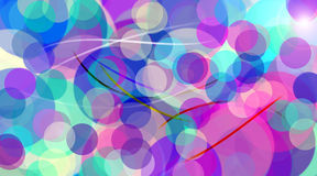 Abstract computer art. Digital art Stock Illustration