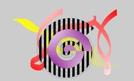Abstract computer art. Digital art Royalty Free Illustration
