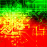 Abstract computer background Stock Image