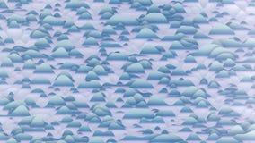 Abstract computer geproduceerd beeld van een gestileerde sneeuwbergen Royalty-vrije Illustratie