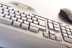 Abstract computer keyboard Stock Photos