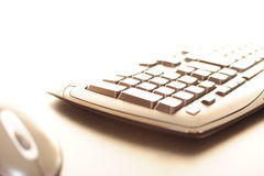 Abstract computer keyboard Royalty Free Stock Image