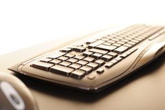 Abstract computer keyboard Royalty Free Stock Photo
