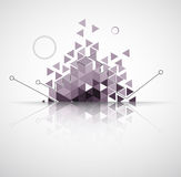 Abstract computer technology business background royalty free illustration