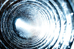 Abstract Concentric Circles - Duct Piping Internal Stock Photos