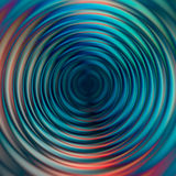 Abstract concentric glowing tubes Royalty Free Stock Photo