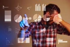 Abstract concept bedrijfssucces, de groei en globalisering Stock Foto