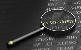 Customer Centric Concept Royalty Free Stock Photos