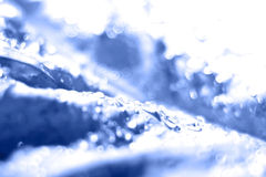 Abstract concept blue Stock Photo