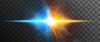 Abstract concept de krachten barsten Transparante achtergrond slechts in EPS 10 Royalty-vrije Stock Foto