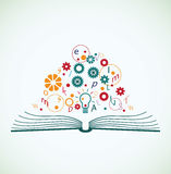 Abstract concept of education Stock Photo