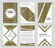 Abstract concept monochrome geometric pattern. Black and white minimal background. Creative illustration template. Seamless. Abstract layout background set. For royalty free illustration