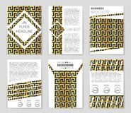 Abstract concept  monochrome geometric pattern. Black and white minimal background. Creative illustration template. Seamless Royalty Free Stock Photo
