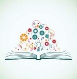 Abstract concept onderwijs Royalty-vrije Illustratie