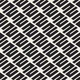 Abstract concept vector monochrome geometric pattern. Black and white minimal background. Creative illustration template Royalty Free Stock Photos