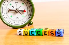 Abstract Concept of way to success Royalty Free Stock Photos