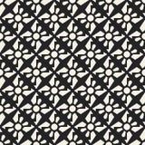 Abstract concepten vector zwart-wit geometrisch patroon Zwart-witte minimale achtergrond Creatief illustratiemalplaatje Stock Fotografie
