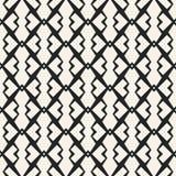 Abstract concepten vector zwart-wit geometrisch patroon Zwart-witte minimale achtergrond Creatief illustratiemalplaatje Royalty-vrije Stock Foto