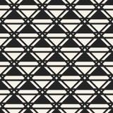 Abstract concepten vector zwart-wit geometrisch patroon Zwart-witte minimale achtergrond Creatief illustratiemalplaatje Stock Foto