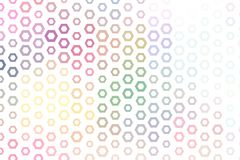 Abstract conceptual hexagon pattern. Shape, cover, decoration, mosaic & template. Abstract conceptual hexagon pattern. Good for web page, graphic design Royalty Free Stock Photos
