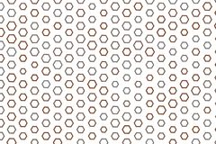 Abstract conceptual hexagon pattern. Shape, details, messy, digital & decoration. Abstract conceptual hexagon pattern. Good for web page, graphic design Royalty Free Stock Images