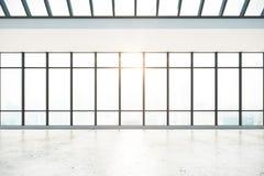 Abstract concreet binnenland Royalty-vrije Stock Foto's