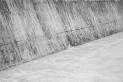 Abstract concreet binnenland Lege hoek Royalty-vrije Stock Foto
