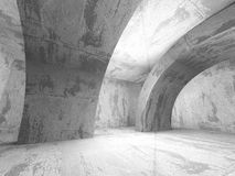 Abstract Concrete Architecture Construction Empty Room Backgroun Royalty Free Stock Photography