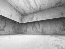 Abstract Concrete Architecture Construction Empty Room Backgroun Stock Photos