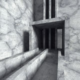Abstract concrete architecture industrial construction backgroun Stock Images