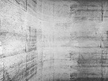 Abstract concrete background with rounded edge Royalty Free Stock Photo