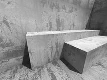 Abstract Concrete Construction. Architecture Background Stock Photography
