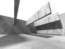 Abstract Concrete Construction. Architecture Background Royalty Free Stock Image
