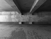 Abstract concrete empty dark room interior. Architecture backgro Royalty Free Stock Image