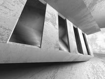 Abstract concrete empty dark room interior. Architecture backgro Royalty Free Stock Photos