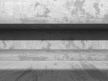 Abstract concrete geometric architecture background Stock Image